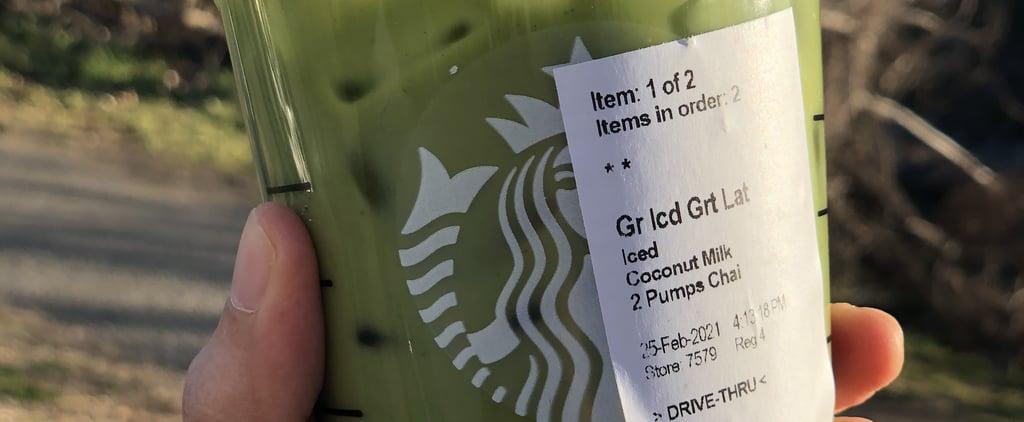 I Tried TikTok's Iced Matcha Latte With Chai at Starbucks