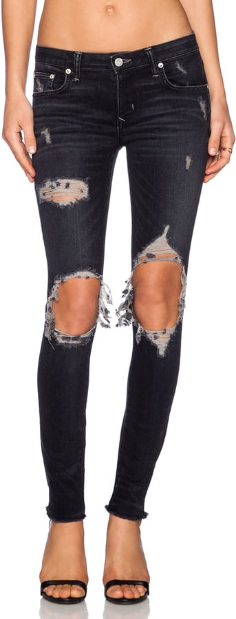 Lovers + Friends Destroyed Skinny Jeans ($168)