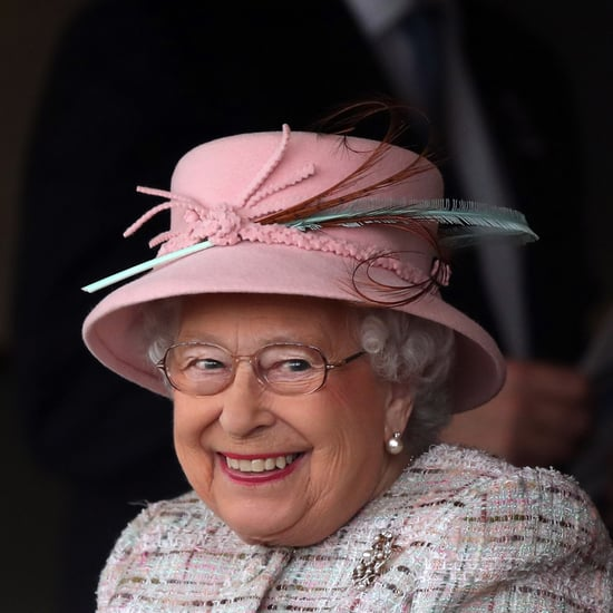 Queen Elizabeth II at Newbury Racecourse on Birthday 2017