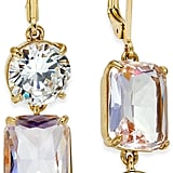 Kate Spade Gold-Tone Crystal Mismatch Earrings
