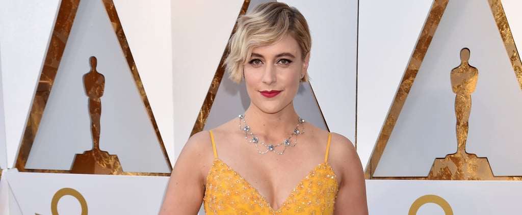 Greta Gerwig's Resemblance to Michelle Williams's Iconic Oscars Look Is Uncanny