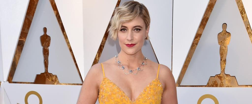 Greta Gerwig Oscars 2018
