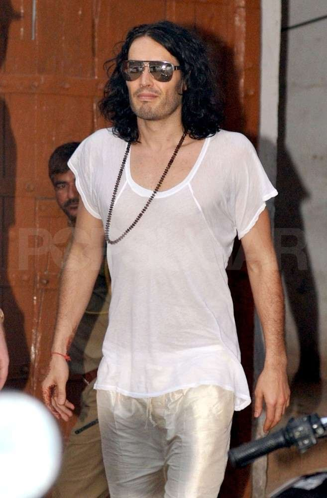 Pictures of Russell Brand Safari
