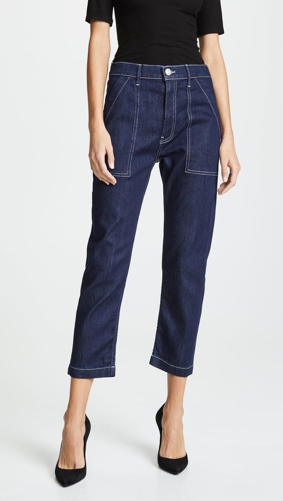 3x1 Sabine Tapered Chino Jeans