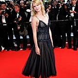 January Jones attended the Chromophobia screening at the Cannes Film Festival in 2005.