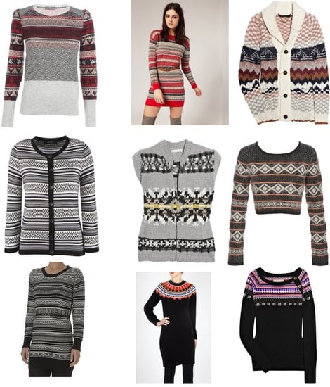 Fair Isle Knits for Winter 2010
