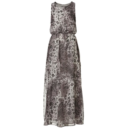 """>> Crisp white and bold black accessories add a graphic element to this soft animal print. Petite Grey Animal Print Side Slit Maxi Dress , $100 Looks chic with: <iframe src=""""http://widget.shopstyle.com/widget?pid=uid5121-1693761-41&look=3353451&width=3&height=3&layouttype=0&border=0&footer=0"""" frameborder=""""0"""" height=""""244"""" scrolling=""""no"""" width=""""286""""></iframe>"""
