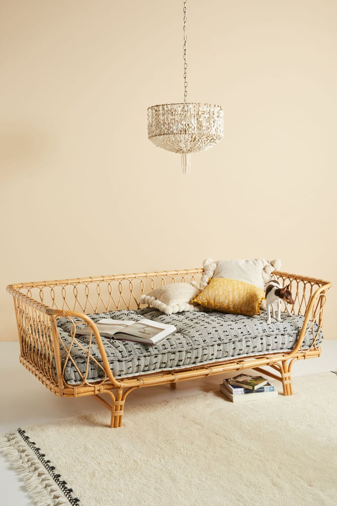 Anthropologie Rattan Daybed