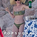 Katy Perry Almost Gets Swept Up by a Wave in Mexico, Manages to Hold Onto Her Drink