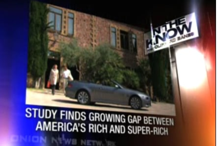 Are America's Rich Falling Behind The Super-Rich?