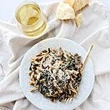 Mushroom and Swiss Chard Pasta