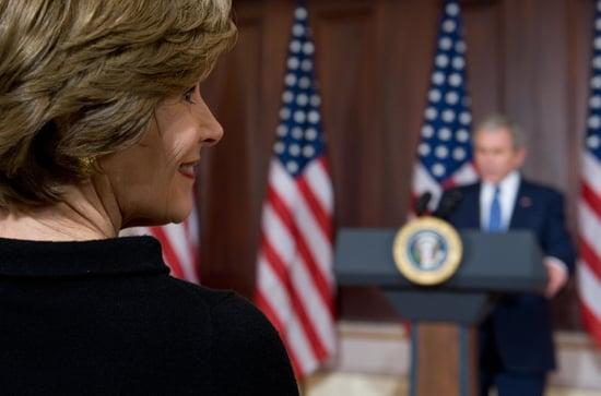 Briefing Book! Laura Bush Took Obama's Criticism Personally