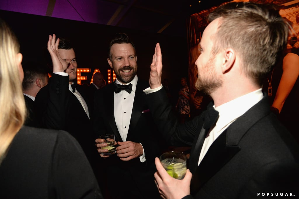 Pictured: Aaron Paul and Jason Sudeikis