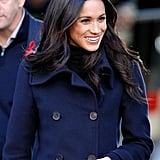 Meghan Markle's Bouncy Blowout, 2018
