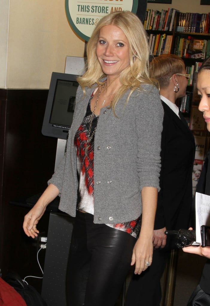 Pictures of Gwyneth Paltrow Barnes & Noble Book Signing