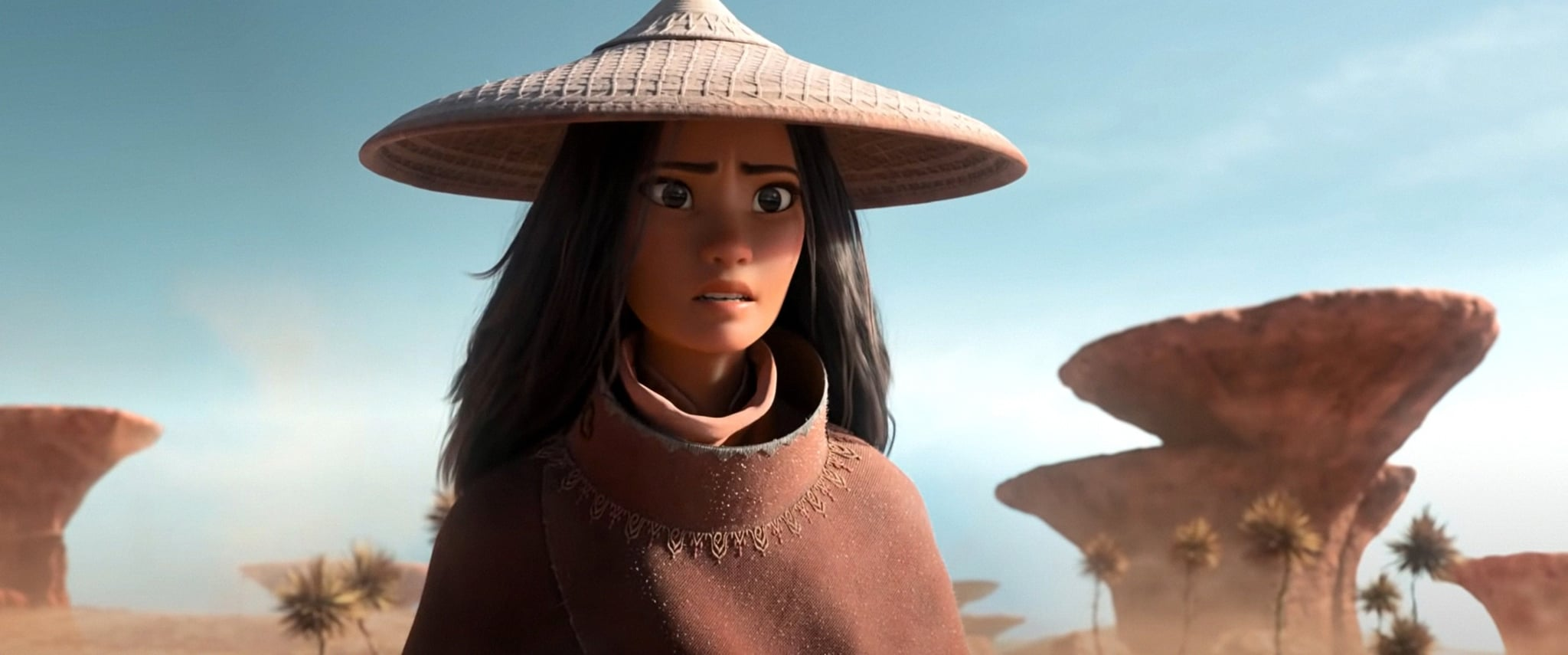 RAYA AND THE LAST DRAGON, Raya (voice: Kelly Marie Tran), 2021.  Walt Disney Studios Motion Pictures / Courtesy Everett Collection
