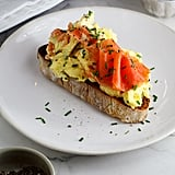 Scrambled Eggs With Smoked Salmon and Chives