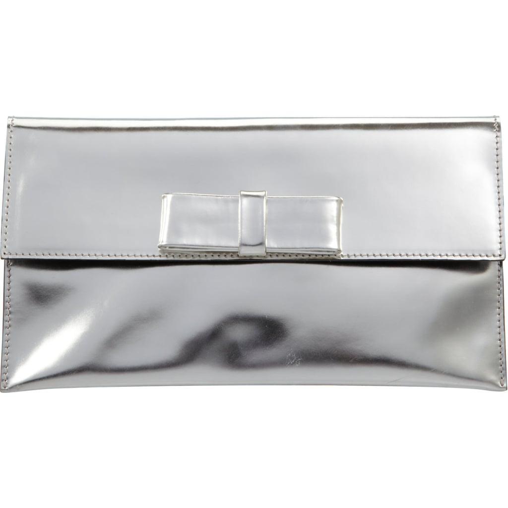 Marni Metallic Bow Clutch