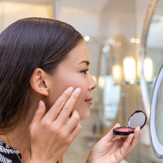 Soft and Dramatic Blush Looks to Re-Create