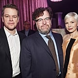 Matt Damon, Kenneth Lonergan, and Michelle Williams