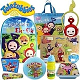 Teletubbies Showbag ($26) Includes:  Headband  Wooden Puzzle  Backpack