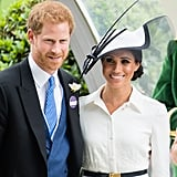Meghan Markle and Prince Harry Smiling For Photos 2018