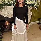 Jenna Coleman at the British Vogue and Tiffany & Co. Fashion and Film Party