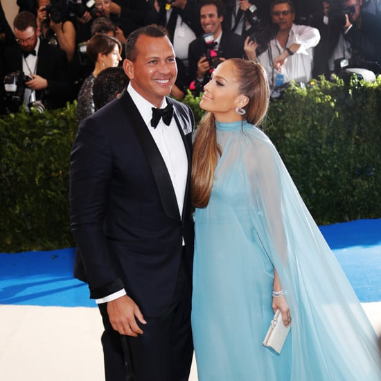 Alex Rodriguez Taking Pictures of Jennifer Lopez at Met Gala
