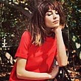 Alexa Chung showed off her enviable hair. Source: Instagram user chungalexa