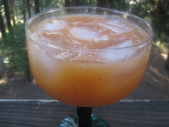 You'll be surprised how well peaches and tequila complement each other in this peach margarita.