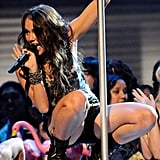Miley Cyrus wowed the crowed with a scandalous performance in 2009.
