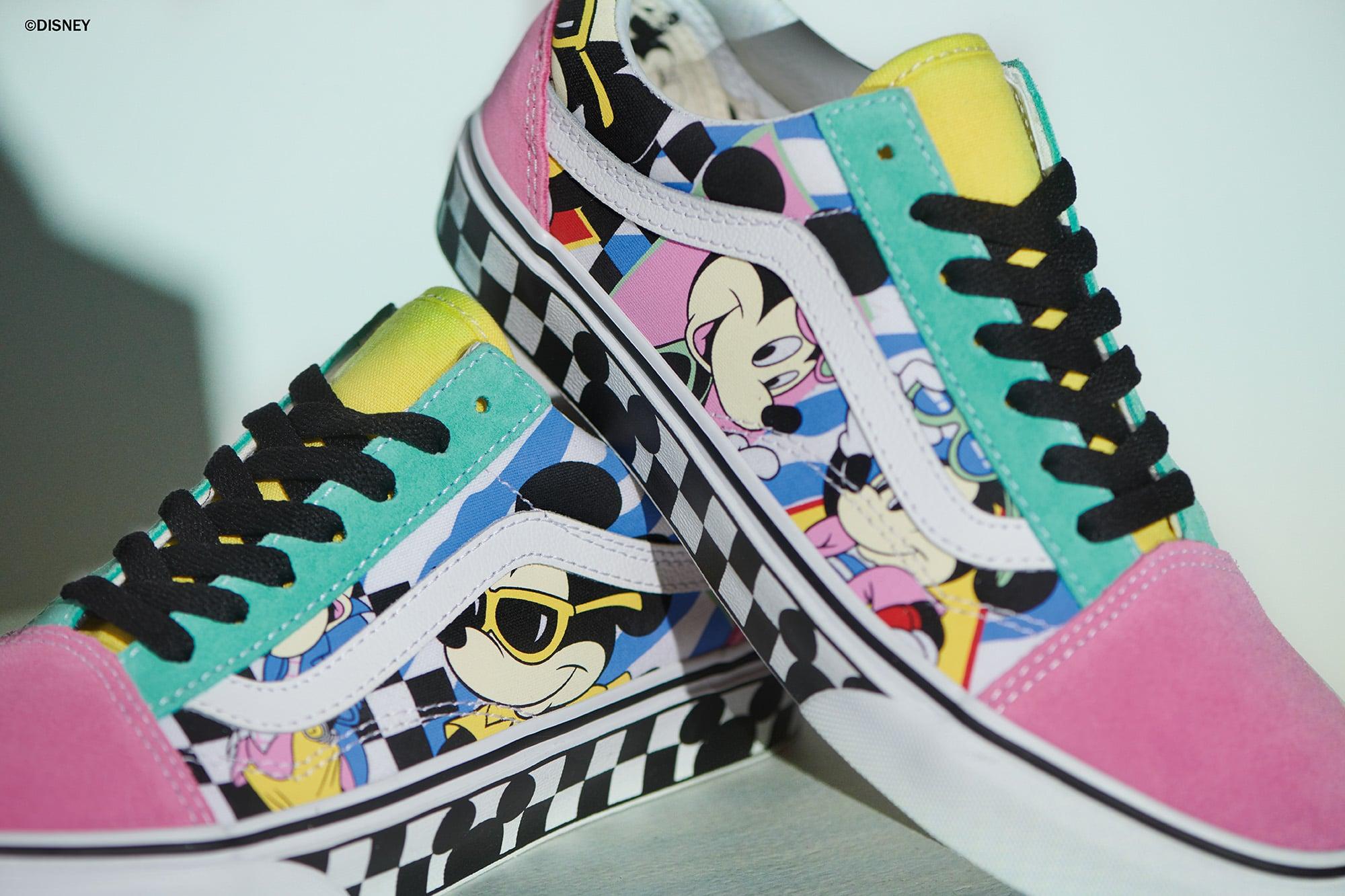 Disney Mickey Mouse Vans Sneaker