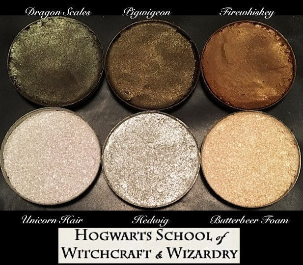 AWhimsicalWillow The Hogwarts Highlight and Contour Palette