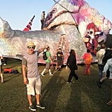 Matt Lanter of 90210 hit up Coachella. Source: Instagram user mattlanter