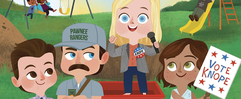 Parks and Rec Children's Book With the Characters as Kids