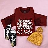 Sleigh My Name Adult Sweatshirt
