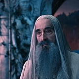 Christopher Lee in The Hobbit: An Unexpected Journey.