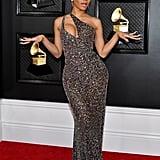 Saweetie at the 2020 Grammys
