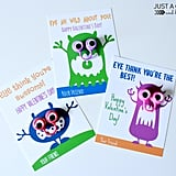 Cute Monster Valentines