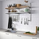 Kungsfors Wall Storage With Grid and Knife Rack