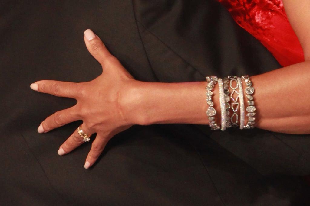 Michelle Obamas Engagement Ring POPSUGAR Fashion