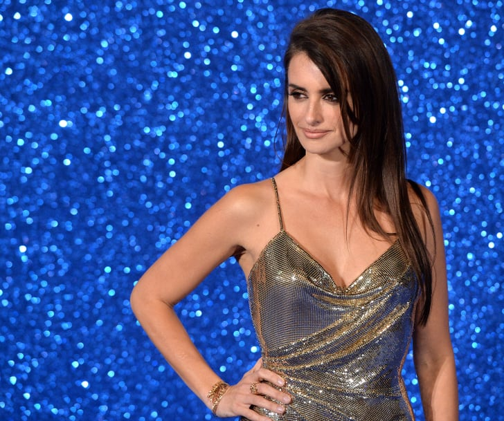 She Worked A Sparkly Silver Dress At The Zoolander No  Penelope Cruz Sexiest -3261