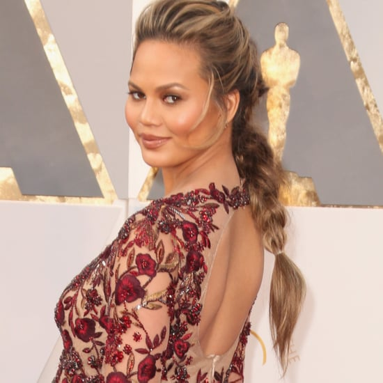 Chrissy Teigen's Hair at the Oscars 2016