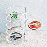 Four-Section Acrylic Swivel Organizer