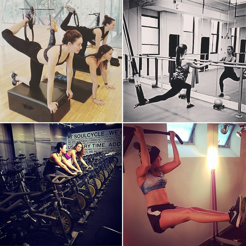 Healthy Celebrity Instagram Photos