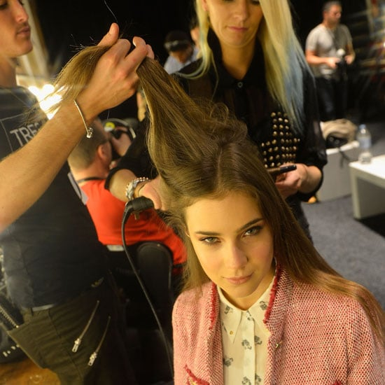 TRESemme Fresh Start Dry Shampoo was used to add texture to the look.