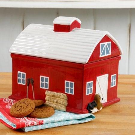 The Pioneer Woman Barn Cookie Jar