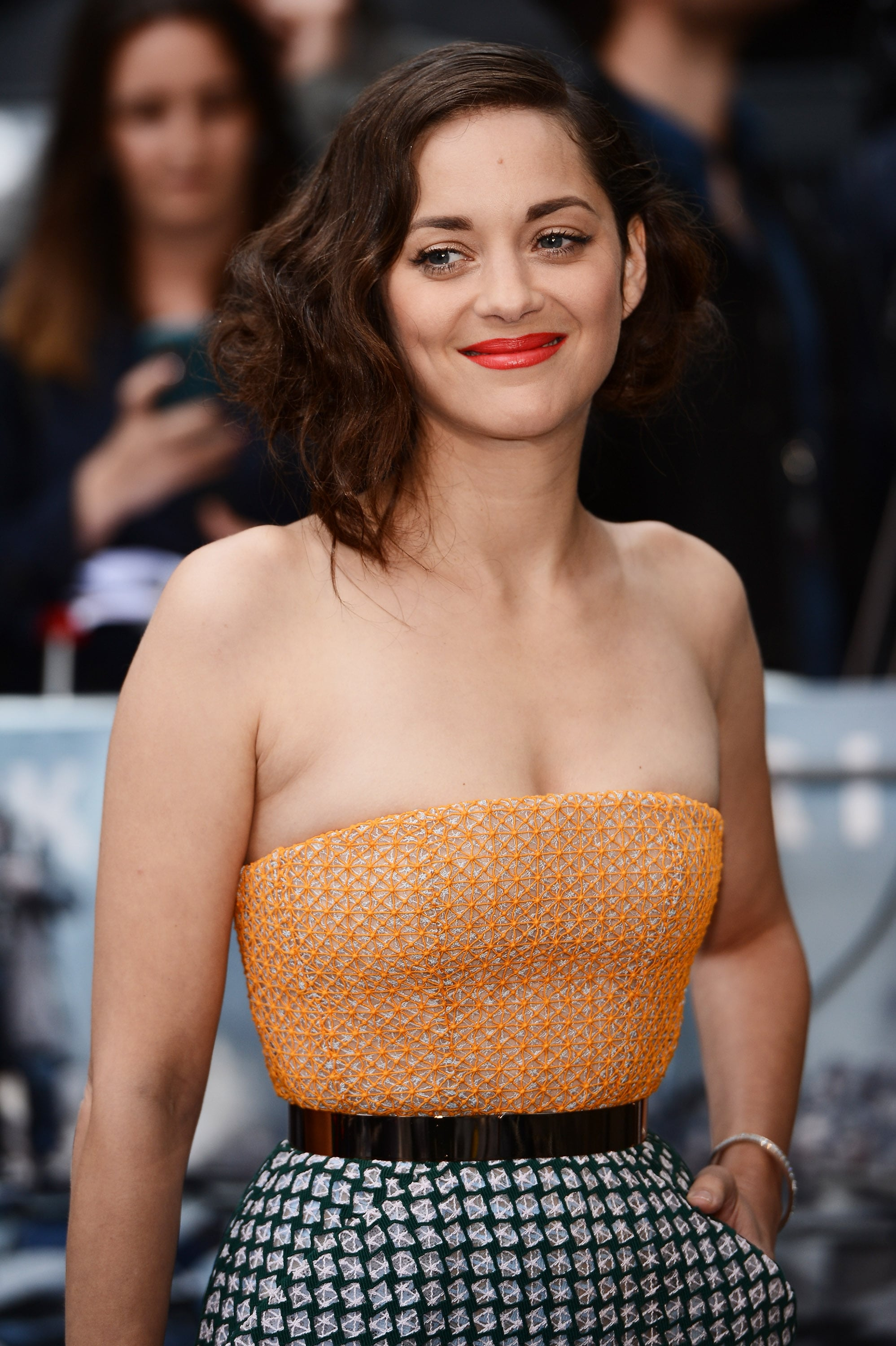 Marion Cotillard Arrived At The Dark Knight Rises Uk Premiere In