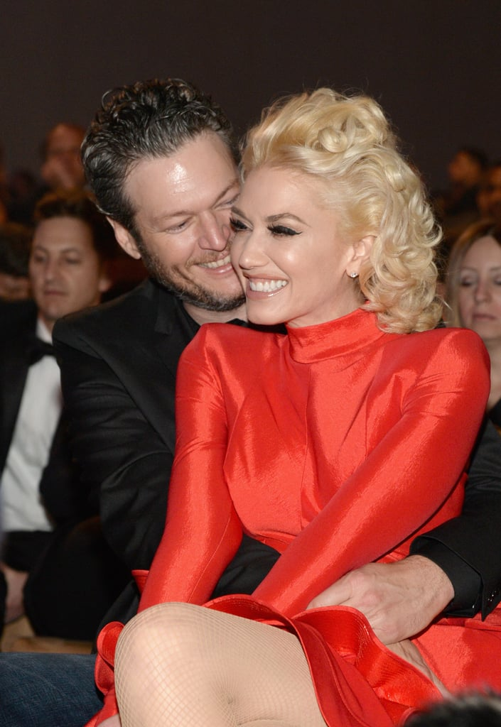 Ever since Gwen Stefani and Blake Shelton confirmed their relationship back in 2015, the couple has been showing off their PDA every chance they get. Even though the pair stepped out for the first time holding hands after the CMAs in Nashville that year, they started sharing cute moments together on social media long before that — and over the past few years, they've put their love on display at high-profile events and in candid interviews. Start scrolling to see all their sweetest snaps!      Related:                                                                                                           The Sweetest Things Gwen Stefani and Blake Shelton Have Said About One Another