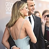 Pictured: Jennifer Aniston and Justin Theroux